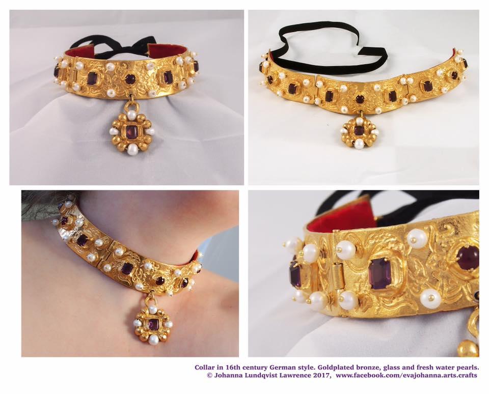 Halsband Deutschland 16. Jhd. von Baronin Estrid